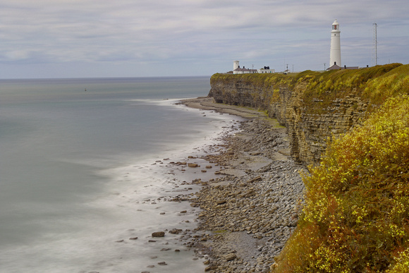 Nash Point Lighthouses